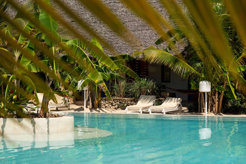 Fun Beach Hotel back pool bungalow
