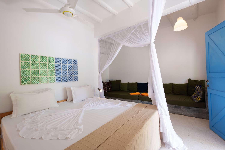 Fun Beach Hotel back pool bungalow bedroom