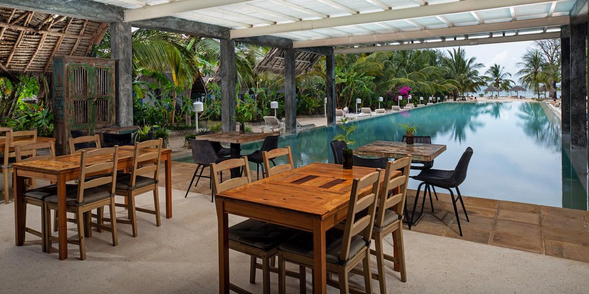 Fun Beach Hotel dining area