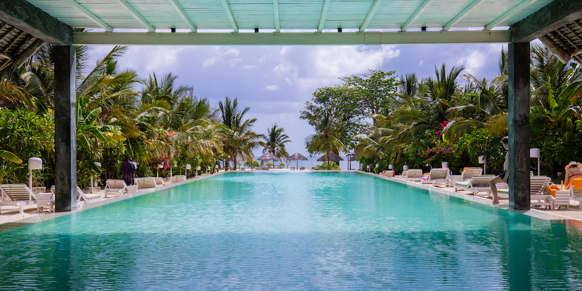 Fun Beach Hotel front pool view
