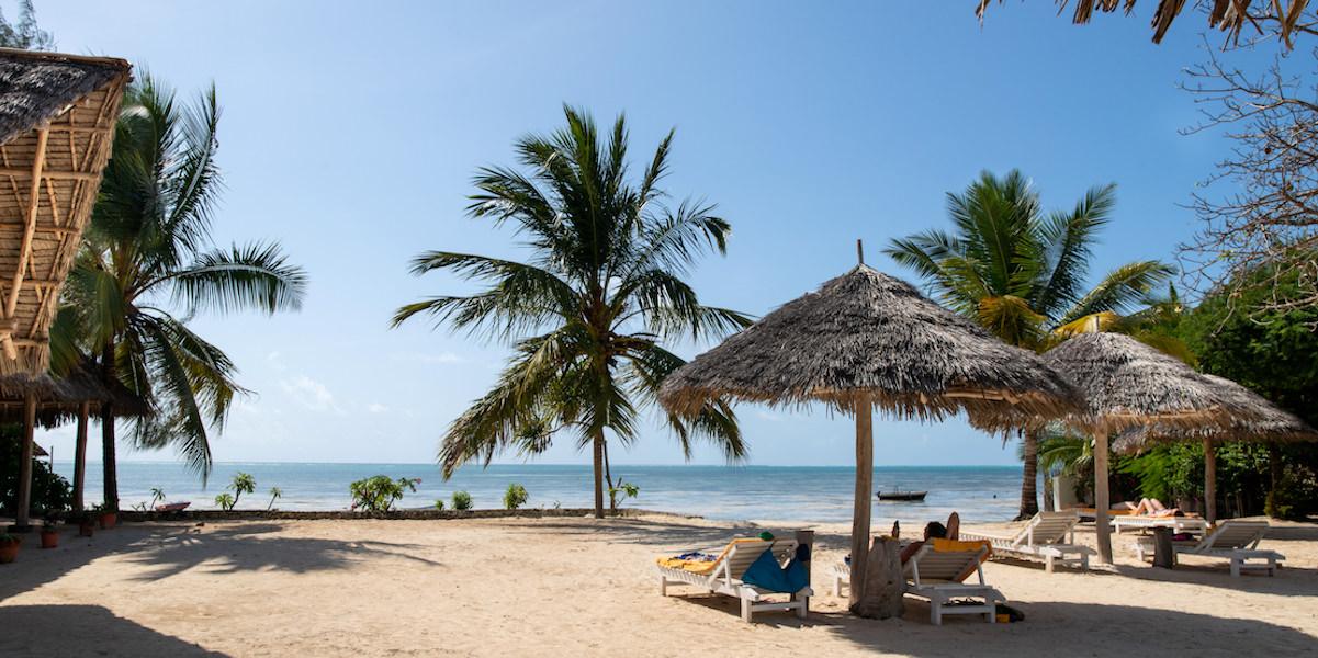 Fun Beach hotel beach area