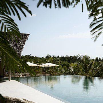 Qambani Luxury Resort Pool View