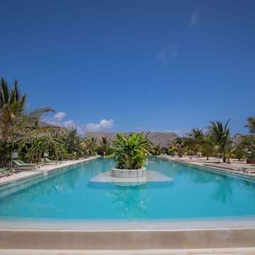 Fun Beach Hotel back pool view