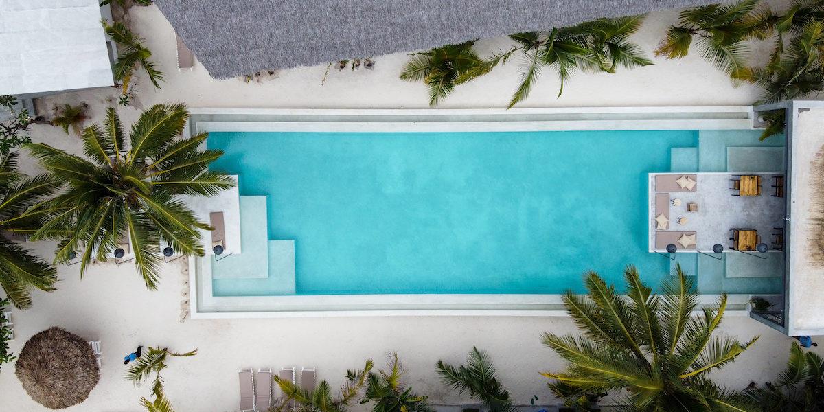Casa Beach Hotel Aerial