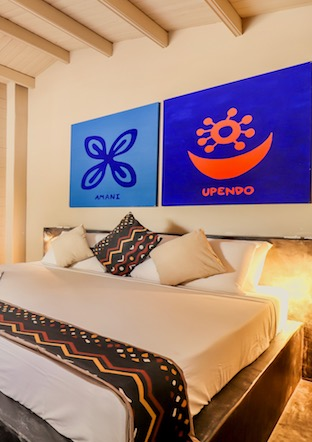La Luna Suite Apartment Bedroom