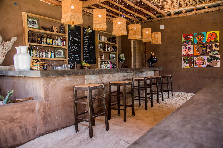 Mwezi Boutique Resort bar