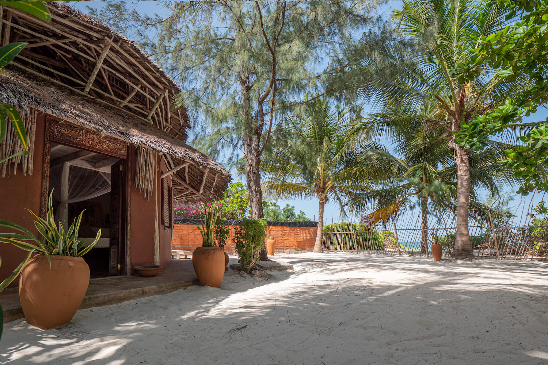 Mwezi Boutique Resort beach house exterior