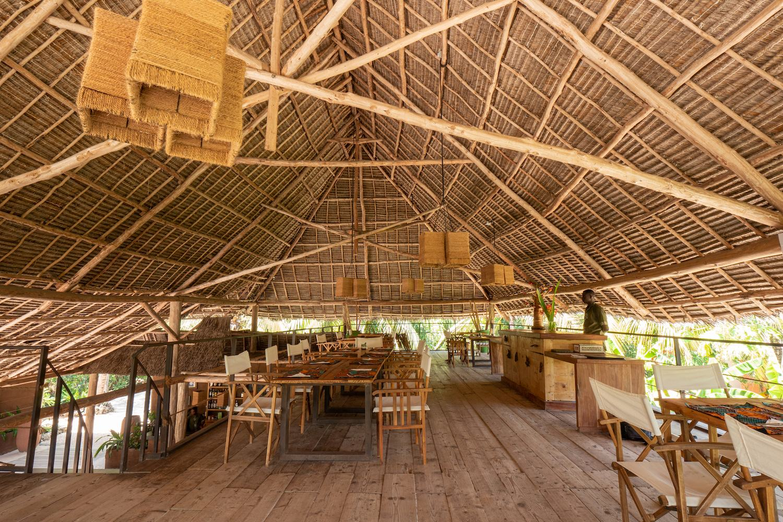 Mwezi Boutique Resort Dining Area