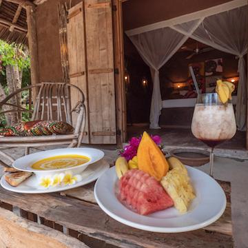 Mwezi Boutique Resort veranda view