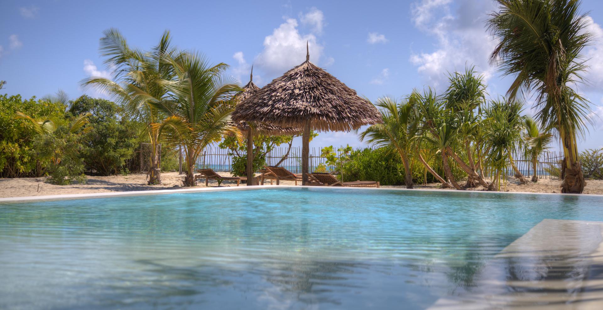 Mwezi Boutique Resort swimming pool