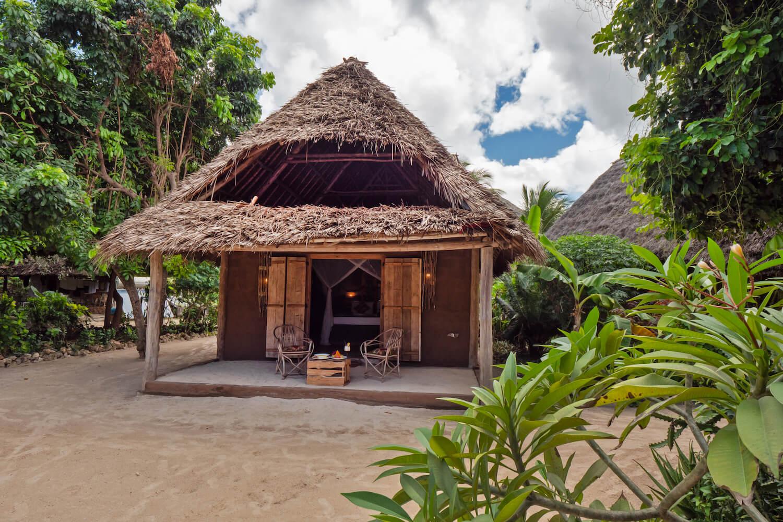 Mwezi Boutique Resort moon bungalow exterior