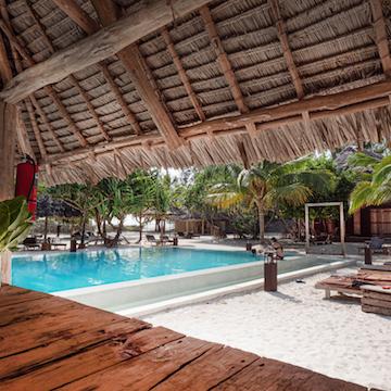 Mwezi Boutique Resort pool bar