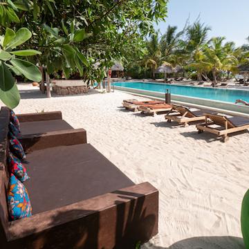 Mwezi Boutique Resort pool