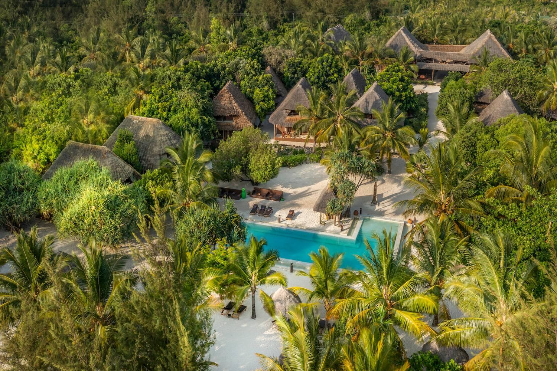 Mwezi pool area aerial