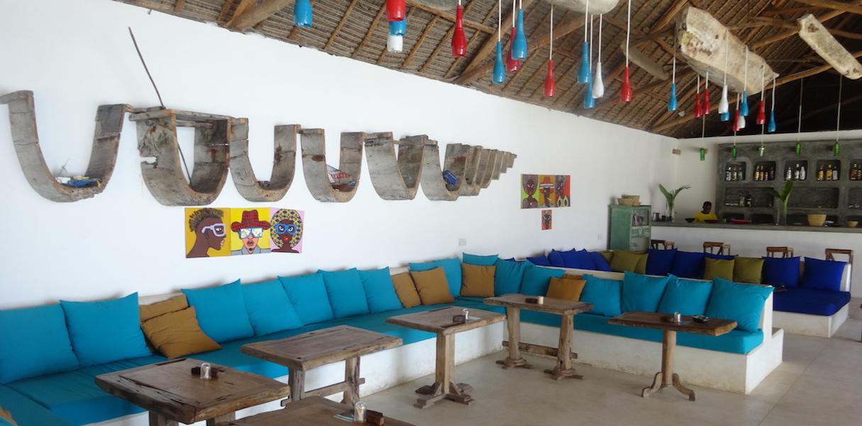 Nur Beach Resort lounge area