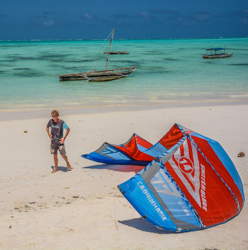 Nur Beach Resort Zanzibar Pro Kite