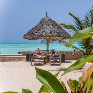 Nur Beach Resort private beach area