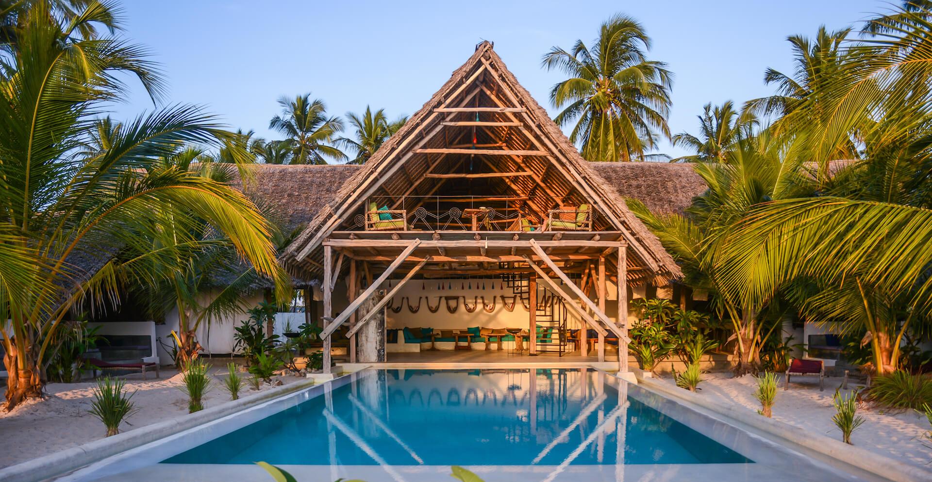 Nur Beach Resort pool view
