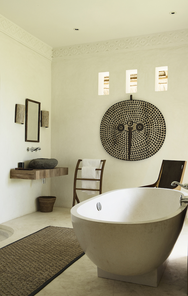 Qambani Luxury Resort Africa bathroom