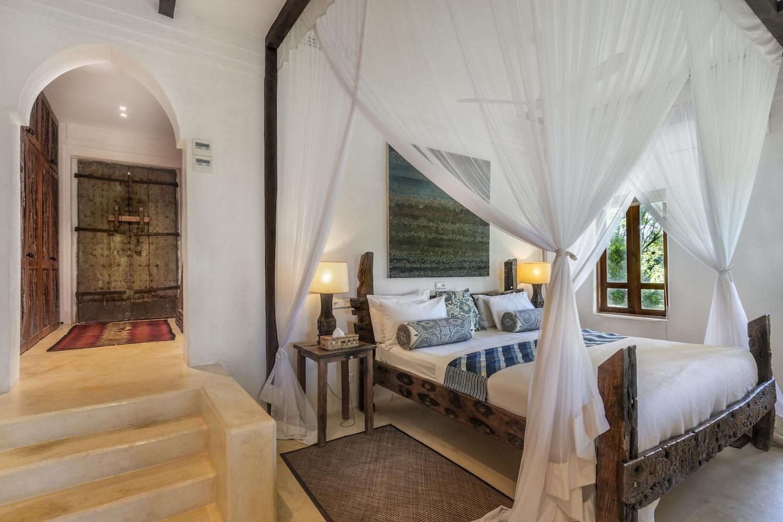 Qambani Luxury Resort Castaway bedroom
