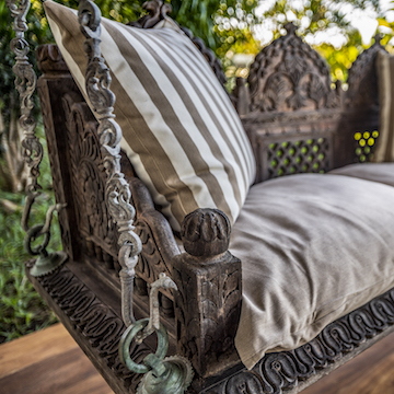 Qambani Luxury Resort outdoor seating
