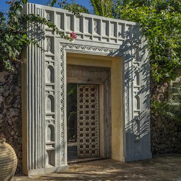 Qambani Luxury Resort entrance
