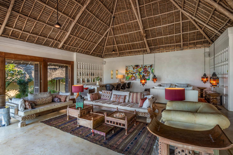 Qambani Luxury Resort living room