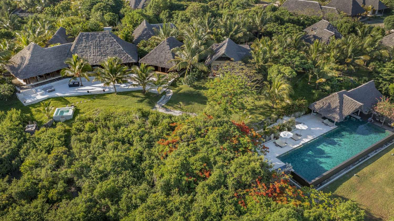 Qambani Luxury Resort aerial view