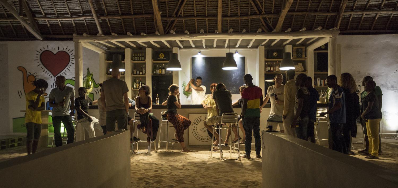 The Loop Beach Resort bar