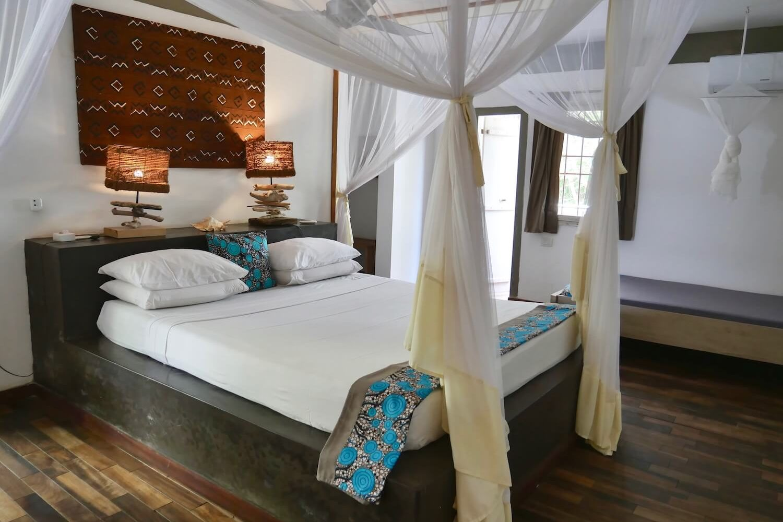 Uzuri Villa junior suite bedroom