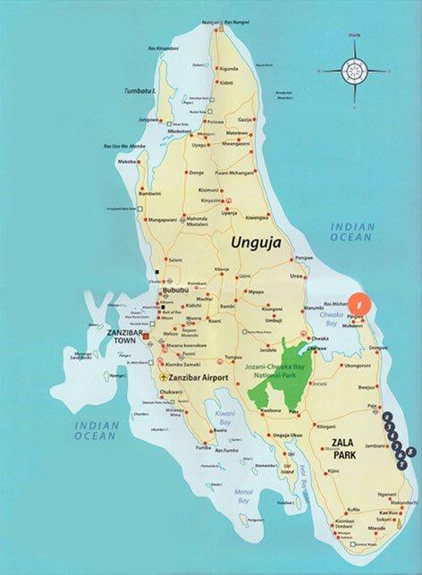Qambani Location Map